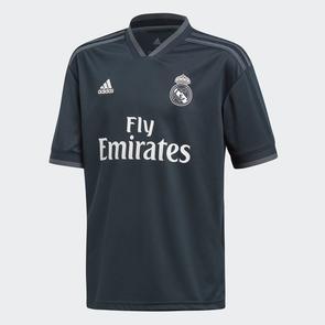 adidas Junior 2018-19 Real Madrid Away Jersey