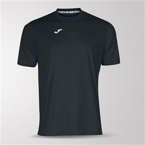 Joma Combi Short Sleeve Shirt – Black