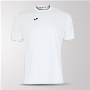 Joma Combi Short Sleeve Shirt – White