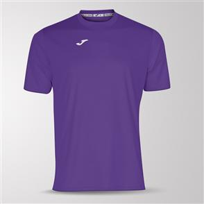 Joma Combi Short Sleeve Shirt – Purple