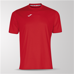 Joma Combi Short Sleeve Shirt – Red