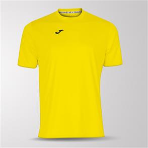 Joma Combi Short Sleeve Shirt – Yellow