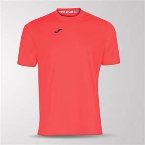 Joma Combi Short Sleeve Shirt – Pink