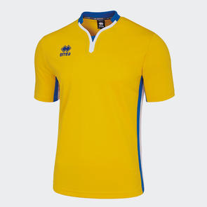 Erreà Eiger Shirt – Yellow/Blue/White