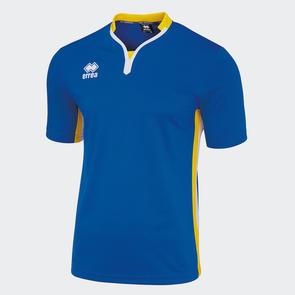 Erreà Eiger Shirt – Blue/Yellow/White