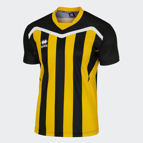 Erreà Junior Alben Shirt – Black/Yellow