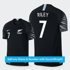Nike 2018 New Zealand Away Jersey - PLAYER PRINTED