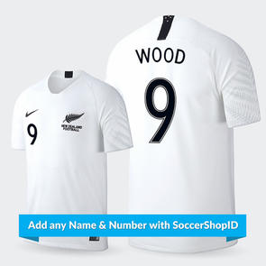 Nike Junior 2018 New Zealand Home Jersey - PLAYER PRINTED