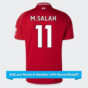New Balance Junior 2018-19 Liverpool Home Shirt - PLAYER PRINTED
