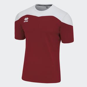 Erreà Gareth Shirt – Maroon/White