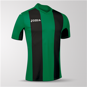Joma Pisa Short Sleeve Shirt – Green/Black