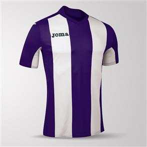Joma Pisa Short Sleeve Shirt – Purple/White