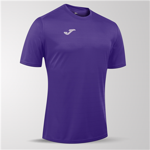 Joma Campus II Short Sleeve Shirt – Purple