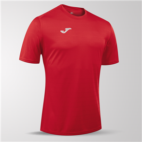 Joma Campus II Short Sleeve Shirt – Red