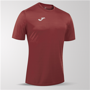 Joma Campus II Short Sleeve Shirt – Maroon