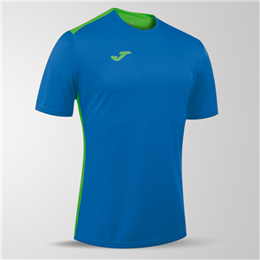 Joma Campus II Short Sleeve Shirt – Blue/Green