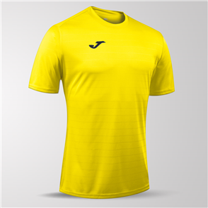Joma Campus II Short Sleeve Shirt – Yellow