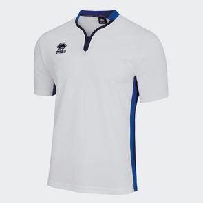 Erreà Eiger Shirt – White/Blue/Navy