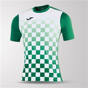 Joma Flag Short Sleeve Shirt – Green/White