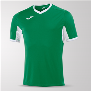 Joma Champion IV Short Sleeve Shirt – Green/White