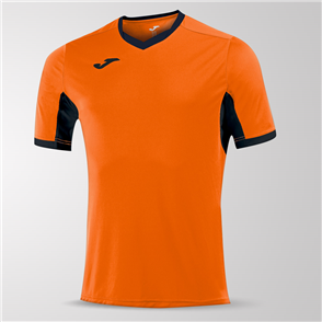 Joma Champion IV Short Sleeve Shirt – Orange/Black
