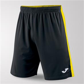 Joma Tokio II Short – Black/Yellow