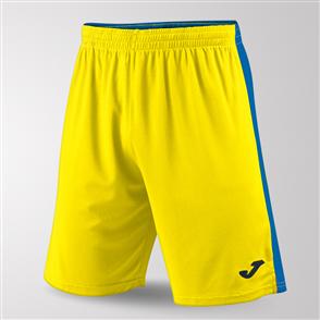 Joma Tokio II Short – Yellow/Blue