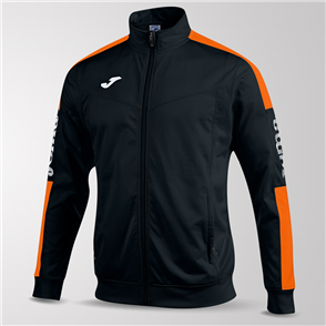 Joma Champion IV Full-Zip Jacket – Black/Orange