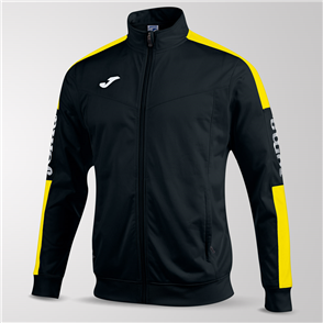 Joma Champion IV Full-Zip Jacket – Black/Yellow