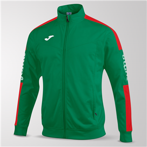 Joma Champion IV Full-Zip Jacket – Green/Red