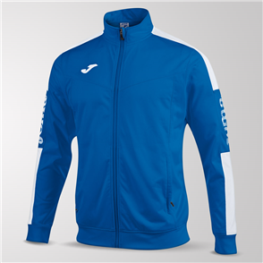 Joma Champion IV Full-Zip Jacket – Blue/White