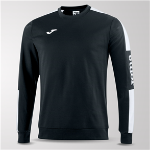 Joma Champion IV Fleece Sweatshirt – Black/White