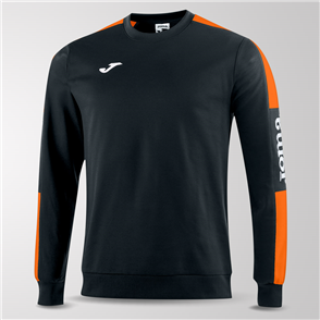 Joma Champion IV Fleece Sweatshirt – Black/Orange
