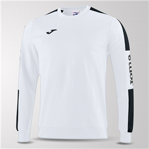 Joma Champion IV Fleece Sweatshirt – White/Black