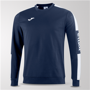 Joma Champion IV Fleece Sweatshirt – Navy/White