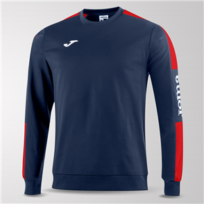 Joma Champion IV Fleece Sweatshirt – Navy/Red
