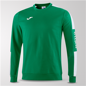 Joma Champion IV Fleece Sweatshirt – Green/White