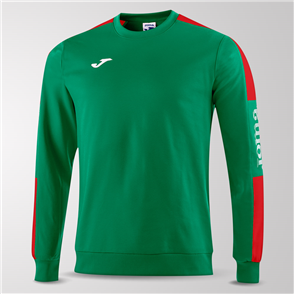 Joma Champion IV Fleece Sweatshirt – Green/Red