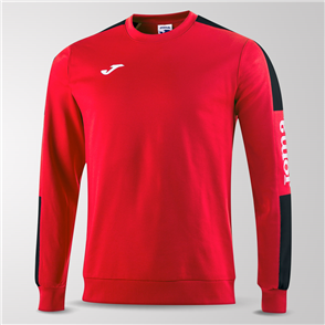 Joma Champion IV Fleece Sweatshirt – Red/Black