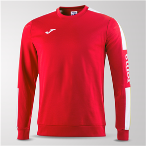 Joma Champion IV Fleece Sweatshirt – Red/White