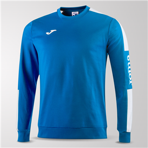Joma Champion IV Fleece Sweatshirt – Blue/White