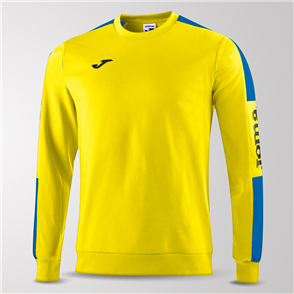 Joma Champion IV Fleece Sweatshirt – Yellow/Blue