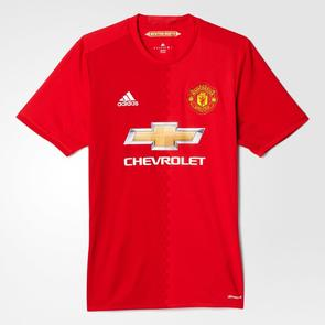 adidas 2016-17 Manchester United Home Shirt