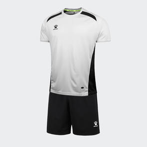 Kelme Academia Jersey & Short Set – White/Black