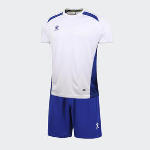 Kelme Academia Jersey & Short Set – White/Royal Blue