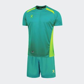 Kelme Academia Jersey & Short Set – Emerald Green/Neon Green