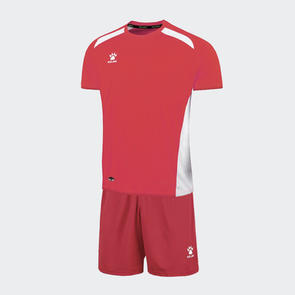 Kelme Academia Jersey & Short Set – Red/White