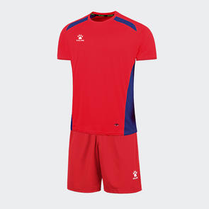 Kelme Academia Jersey & Short Set – Red/Royal Blue
