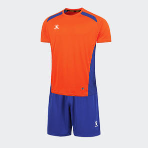 Kelme Academia Jersey & Short Set – Orange/Royal Blue