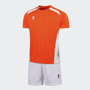 Kelme Academia Jersey & Short Set – Neon Orange/White